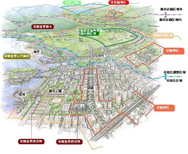 岐阜県中津川市景観計画