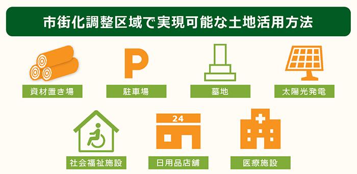 市街化調整区域で可能な土地活用7選